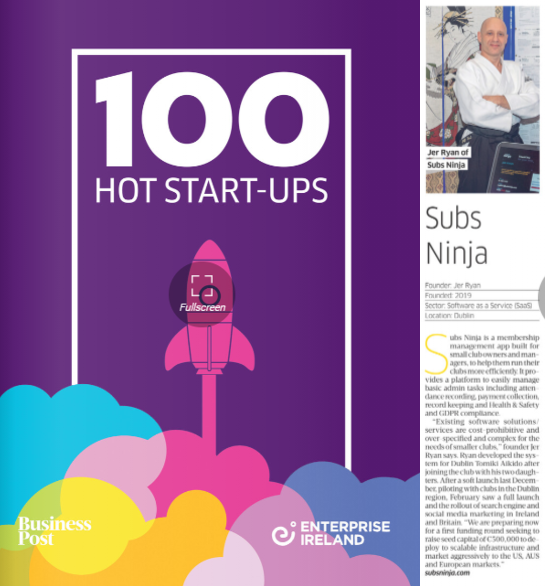 Enterprise Ireland top 100 startups 2020